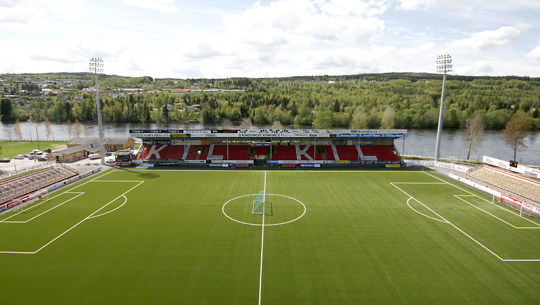 Artificial turf: Gjemselund Stadium, Norway