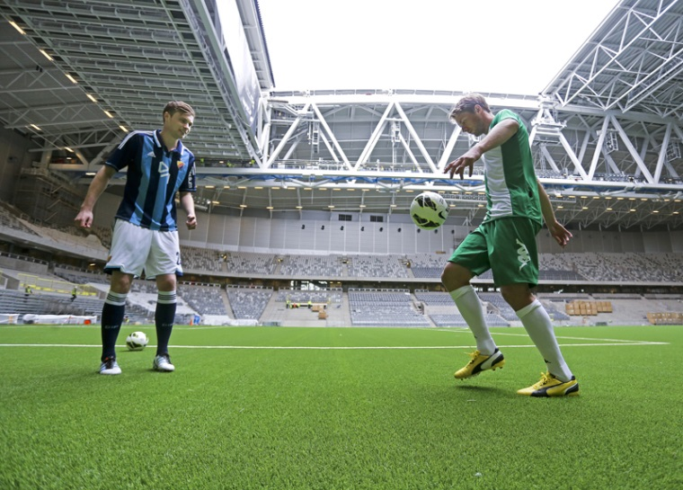 Tele2 Arena switches to artificial turf with Terra® infill